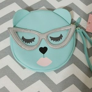 Betsey Jhonson Cat Coin Purse